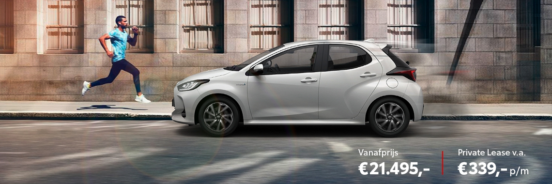 De nieuwe Yaris First Edition